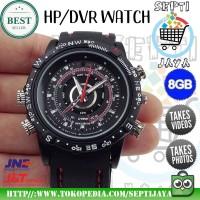 Jam Tangan Pria Branded Original Anti Air ada Kamera Pengintai Spycam
