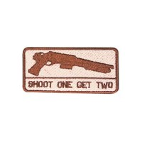 MOLAY SHOOT ONE GET TWO Patch