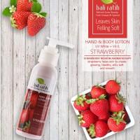 Bali Ratih Hand&Body Lotion - Strawberry - Perawatan Pelembab Kulit