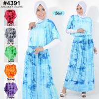 Belle Fashion Baju Big Size XL Gamis Maxi Dress Murah Wanita Muslim
