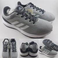 Sepatu Lari Adidas Ortholite Cloudfoam Cosmic Running Grey White Abu