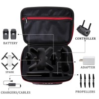 All In Tas Portable Case DJI Spark Water Resistant Combo Bag