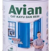 Cat Kayu dan Besi Avian Pure Cocoa Ltr