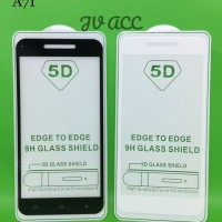 TEMPERED GLASS 5D FULL COVER NEW 2018 OPPO A71 - Hitam