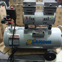 Mesin Kompresor Pompa Pumpa Angin Oilless Silent 1HP Lakoni Fresco130