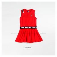 Fila Red Dress / Dress Anak