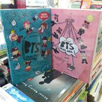 Novel 2 Buku - BTS SALAH GAUL 1 - BTS SALAH GAUL 2 -