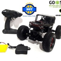 Mainan RC Mobil Jeep Off Road Rock Crawler Ukuran Besar Scale 1:14