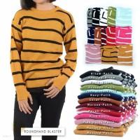 Roundhand Blaster | Sweater Stripe Blaster Rajut Best Seller