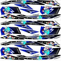 STRIPING VARIASI YAMAHA MIO SOUL LAMA - KARBU STICKER MOTOR STIKER
