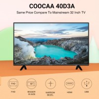 COOCAA LED TV 40 INCH FHD 40D3A garansi panel 3 thn new 2018