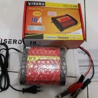 visero digital display charger accu 6v 12v 10a otomatis
