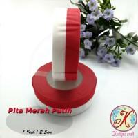 Pita Merah Putih 1 Inch / 2,5 cm per roll