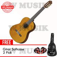 Yamaha Gitar Klasik C70 / C-70 / C 70 - Natural + Softcase & 2 Pick