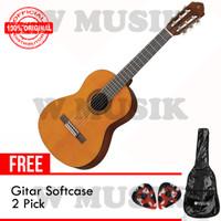 Yamaha Gitar Klasik CGS 102A/ CGS102A - Natural + Softcase & 2 Pick