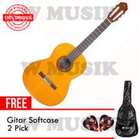 Yamaha Gitar Klasik CS 40 / CS40 - Natural + Softcase & 2 Pick