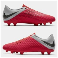 Sepatu Bola Nike Hypervenom Phantom 3 Club Light Crimson AJ4145 600