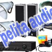 Paket Sound System TOA / CORONG / COLOM Untuk MASJID