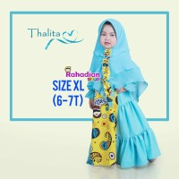 GAMIS ANAK THALITA DRESS XL BY RAHADIANKIDS