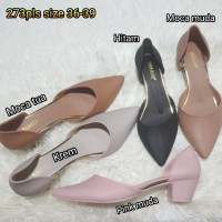 Jelly shoes bara bara sepatu wanita wedges heels 273