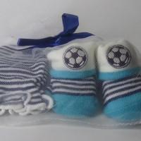 Mitten Carter-Kaos kaki plus sarung tangan motif Bola