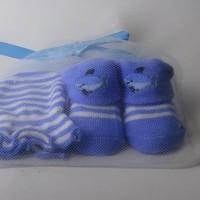 Mitten Carter-Kaos Kaki plus sarung tangan motif Lumba2
