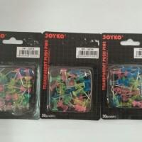 Transparent Push Pins / Paku Mading - Joyko