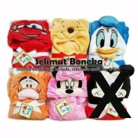 selimut bayi carter, selimut bulu, selimut karakter