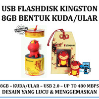 USB Flashdisk Kingston Original 8GB Bentuk Horse / Kuda / Snake / Ular