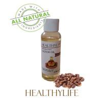 healthylife castor oil minyak jarak 100 persen asli tanpa campuran