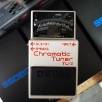 Efek Gitar BOSS TU3 Choromatic Tuner ( Boss TU 3 ) Efek Pedal