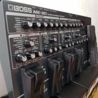Efek Gitar Bass BOSS ME80 ( Boss ME 80 ) Efek Pedal