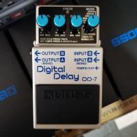 Efek Gitar BOSS DD7 Digita Delay ( Boss DD 7 ) Efek Pedal