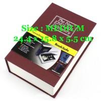 Brankas Bentuk Buku / Security Dictionary Cash Metal Jewelry