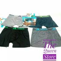 Boxer Pria Import Adidas Size M L XL