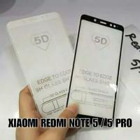 Tempered glass 5D Xiaomi redmi note 5/note 5 pro full cover
