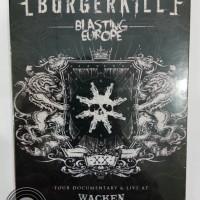 Dvd Original Burgerkill - Blasting Europe Live At Wacken 2015