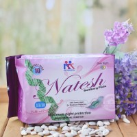 Natesh - Pembalut Herbal Night isi 10 Pcs