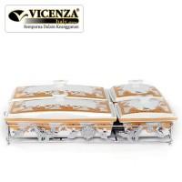 Wadah saji multifungsi Vicenza B749 wadah saji makanan kue snack