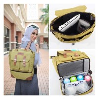 Gabag Lemon Diaper bag - Cooler Bag - Tas Asi - Ransel Ibu
