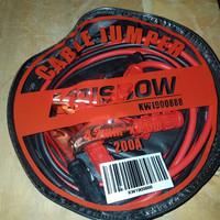 Krisbow Cable Jumper Kabel Aki 4.2mm (2.5M) 200A