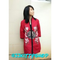 Party Casual Red Cheongsam