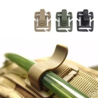Gantungan Pulpen Plastik Water Tube Buckle Hanger Army Tactical