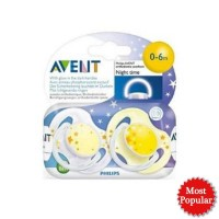 Philips Avent Ortho Soother 0-6m Night Time / Empeng / Pacifier