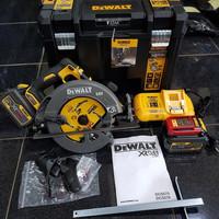 Mesin Potong Kayu Circular Saw Cordless 7 / 184mm 54V DEWALT DCS 575