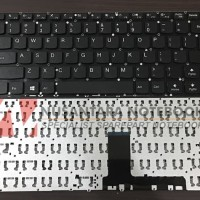 Keyboard Lenovo Ideapad 110-14 110-14IBR 110-14ISK Soket Tengah Power