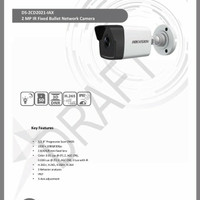 Ip Camera Hikvision DS-2CD2021-IAX Outdoor