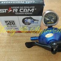 Regulator Gas Star Cam SC-23M Tekanan Rendah Meter Starcam SC23M