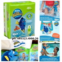 Huggies Little Swimmers Swim Diapers Popok Renang size S