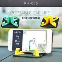 Remax Car Phone Holder Pyramid Silicone 360 Degrees RM-C25